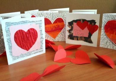 """Radoša darbnīca veltīta """"Sv. Valentīna dienai"""""""